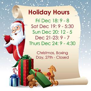Photo Express Maple Ridge Holiday Hours