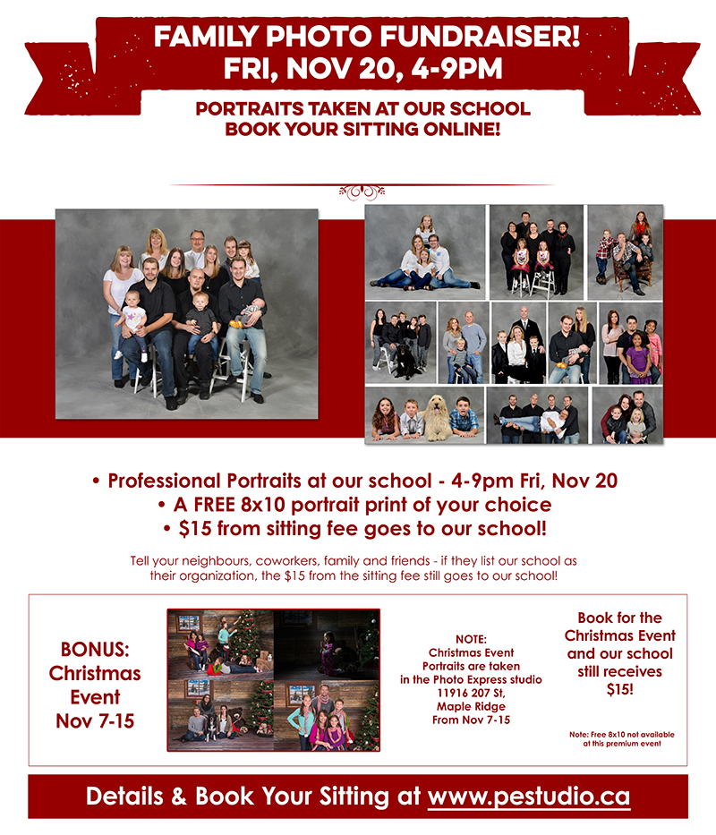 Family Fundraiser Poster TLA 2015
