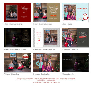 Christmas Cards Maple Ridge
