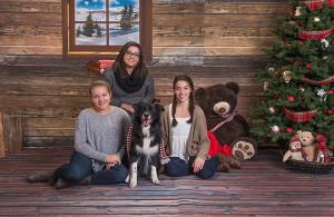 Family Christmas Portraits Coquitlam