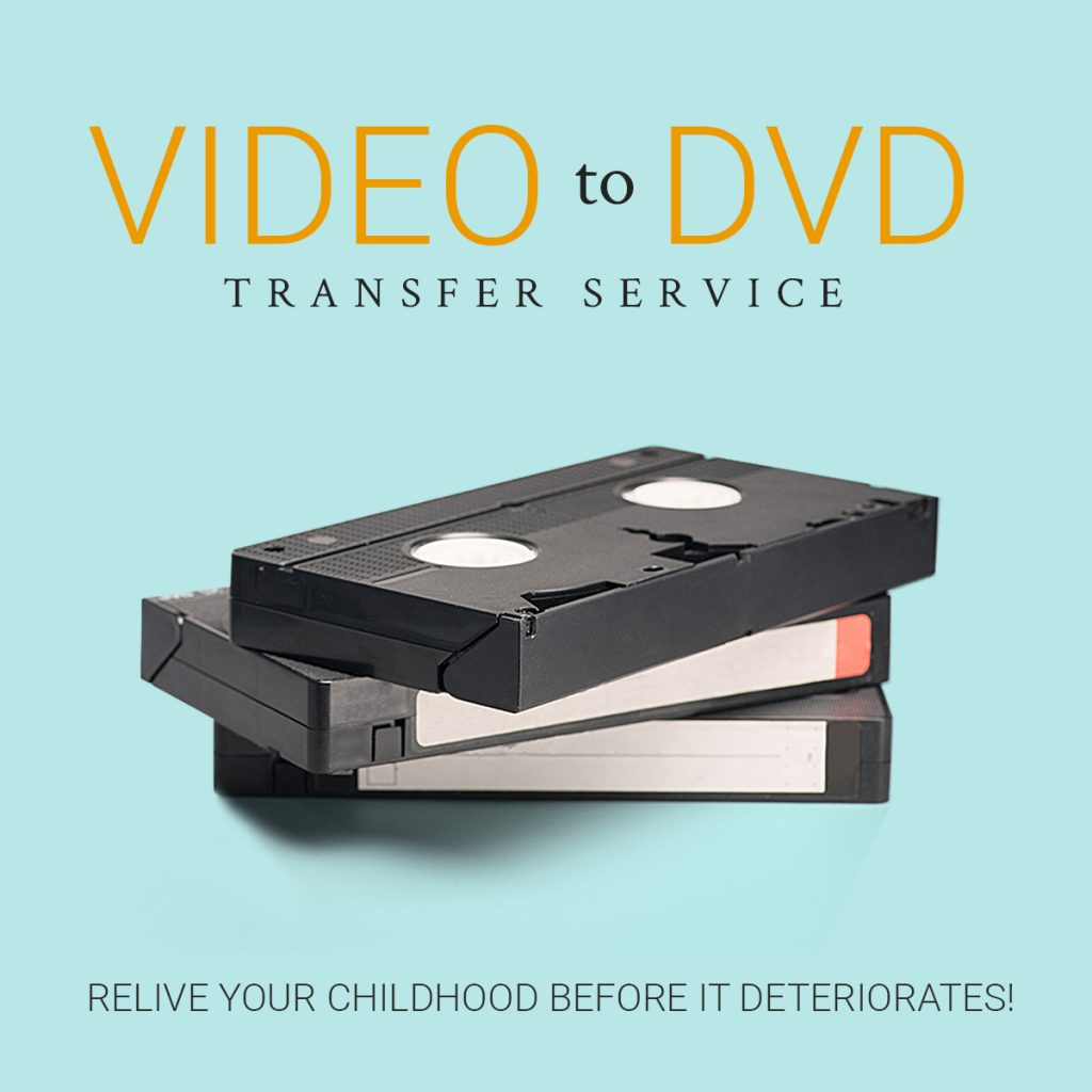 VHS transfer to DVD