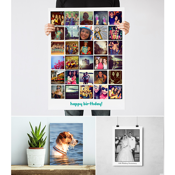 custom posters and collages