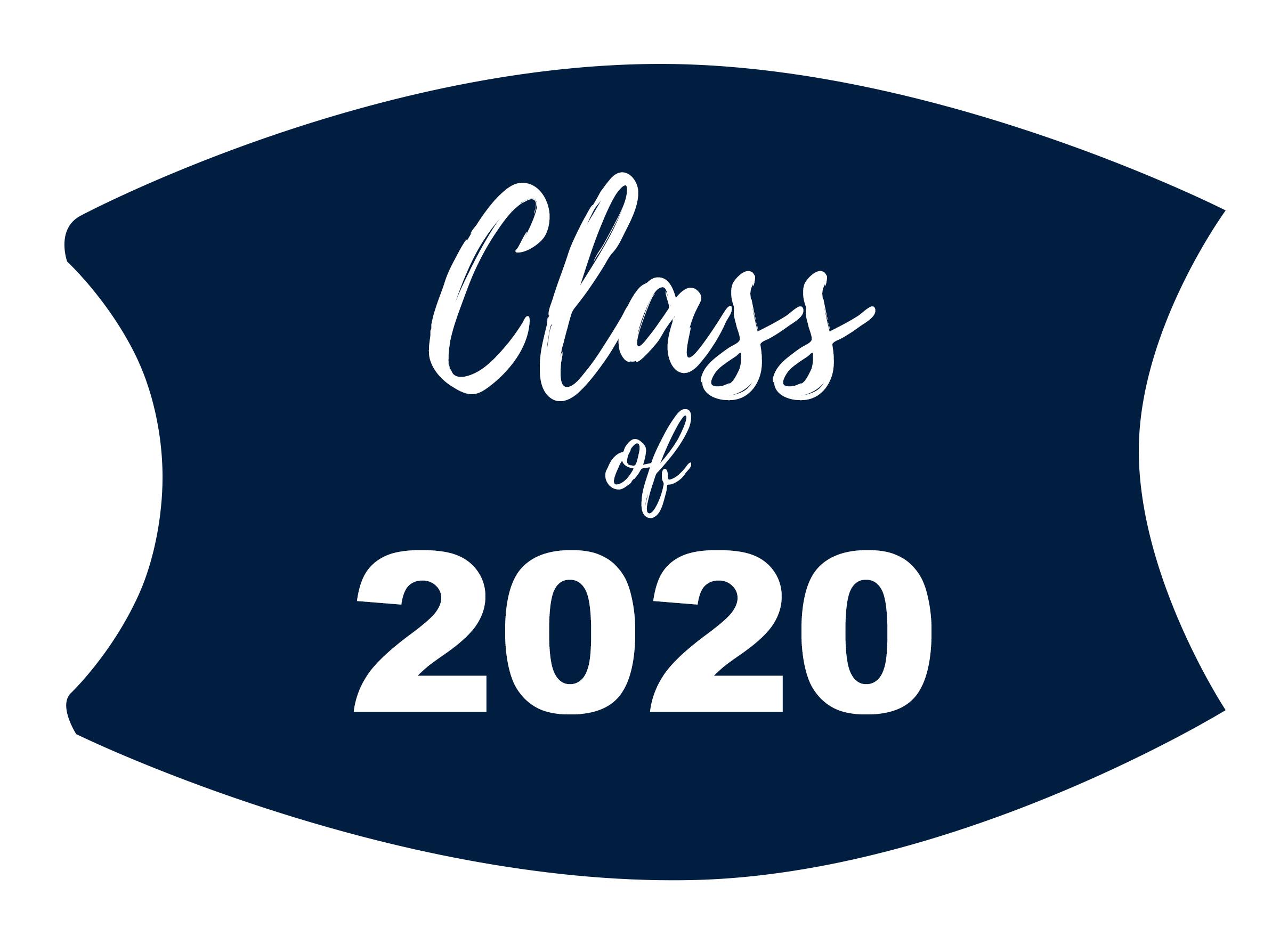Class of 2020 Custom Face Mask