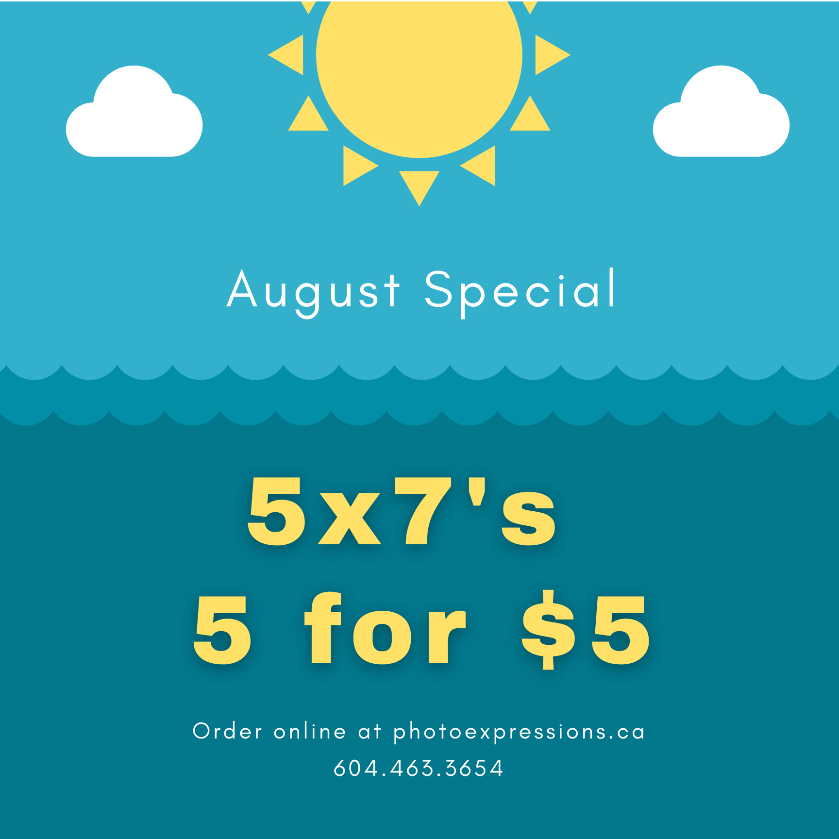 5x7 online print sale