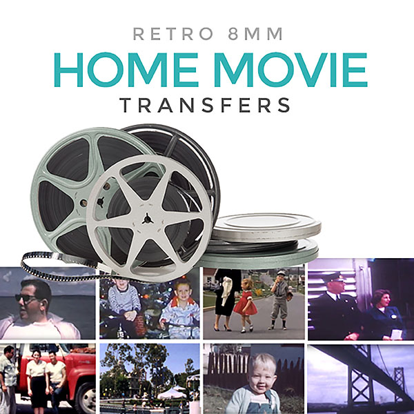 Retro 8 video transfer services