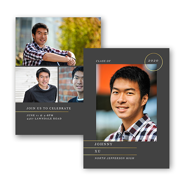 Custom Graduation cards and announcements