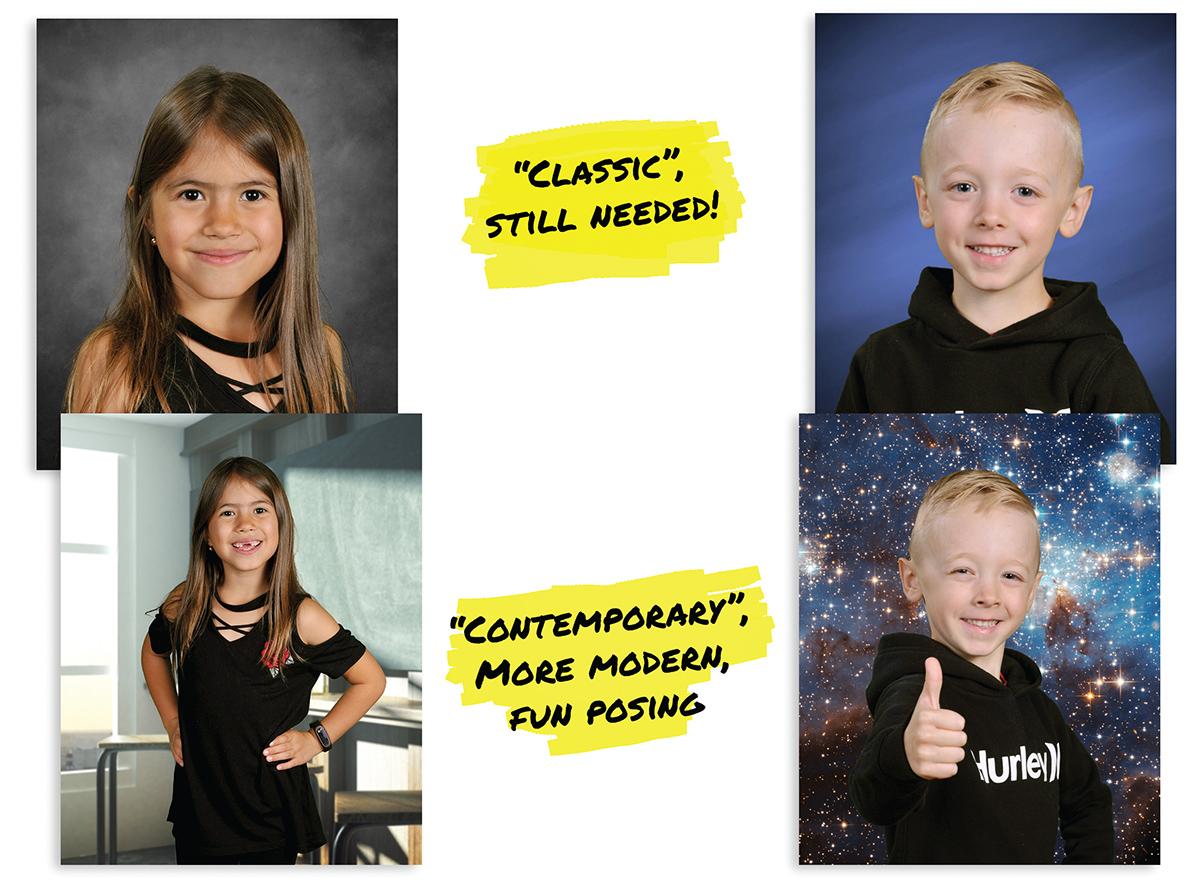 Cool poses school portraits vancouver