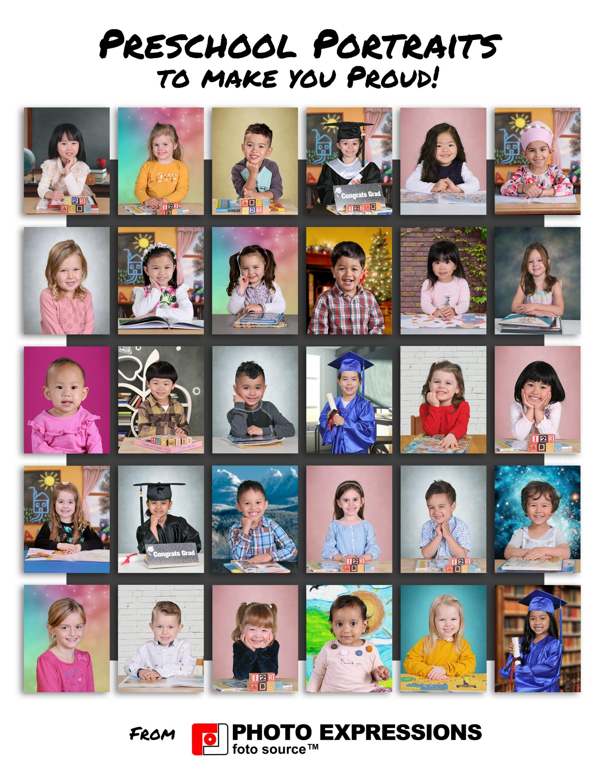 Preschool Portraits Vancouver